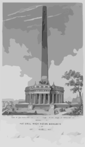 National Washington Monument Clip Art
