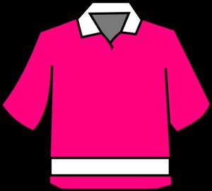 Club Shirt Pink Clip Art at Clker.com - vector clip art online ...