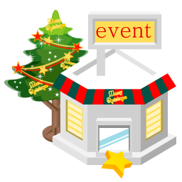 Christmas Event Store Icon Free Images At Clker Com Vector Clip Art Online Royalty Free Public Domain