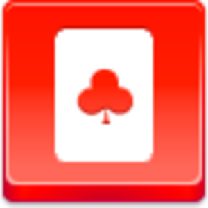 Free Red Button Icons Clubs Card Image