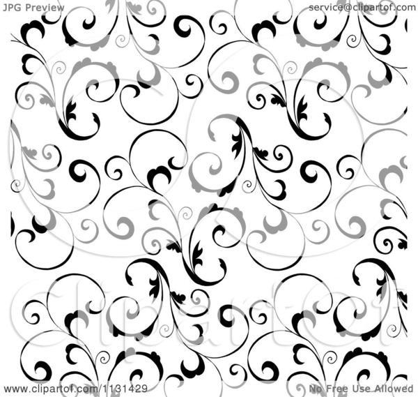 Free Swirls Background Clipart | Free Images at Clker com - vector