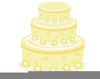 Wedding Cake Clipart Black And White Image