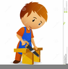 Cartoon Carpenter Clipart Image