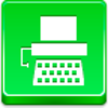 Free Green Button Typewriter Image