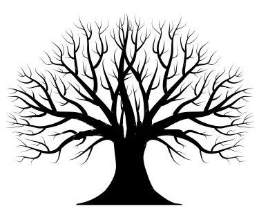 Tree Silhouette | Free Images at Clker.com - vector clip ...