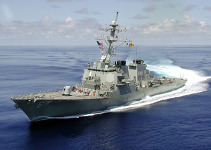 Uss Cole (ddg 67) Underway Image