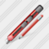 Icon Office Knife Edit Image