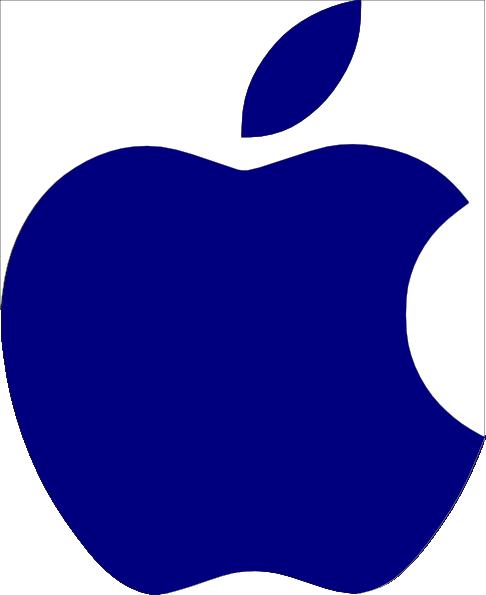 apple logo clipart - photo #7