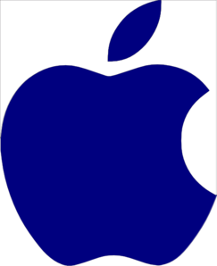 Apple Logo White Clip Art