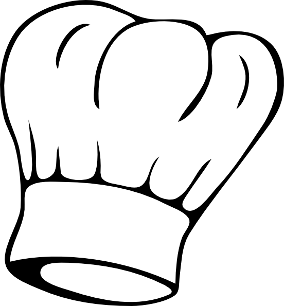 Sweet image pertaining to printable chef hat