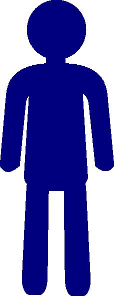 Standing Man Clip Art at Clker.com - vector clip art ...