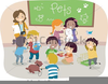 Free Kids Classroom Clipart Image