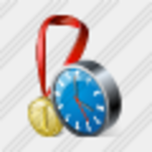 Icon Medal Clock Image