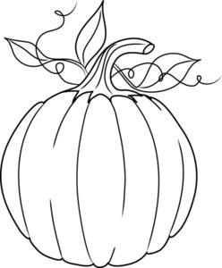 Pumpkin Outline | Free Images at Clker.com - vector clip ...
