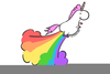 Unicorn Farting Rainbow Image