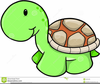 Baby Shower Turtle Clipart Image