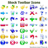 Stock Toolbar Icons Image