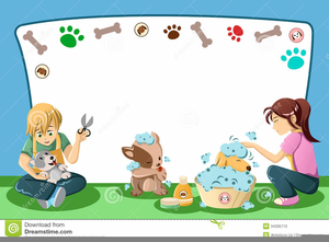 Free Pet Grooming Clipart Image