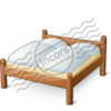 Double Wooden Bed 15 Image