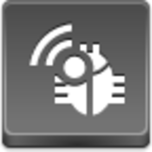 Free Grey Button Icons Radio Bug Image