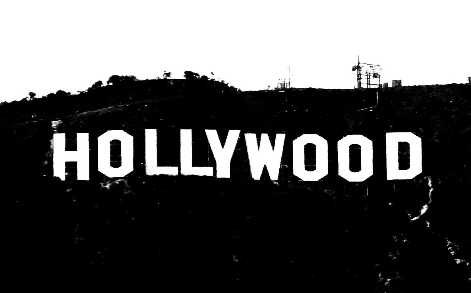 Hollywood Sign | Free Images at Clker.com - vector clip ...