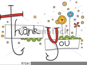 Free Clipart Thank You Card Image