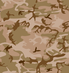 photo about Camo Printable Paper named Desert Camo Print Clip Artwork at - vector clip artwork