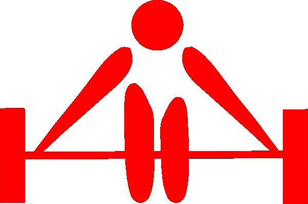 barbell red clip art at clker com vector clip art online weight lifting clip art free weightlifting clipart logo