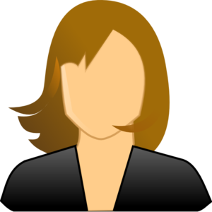 Faceless Woman Clip Art