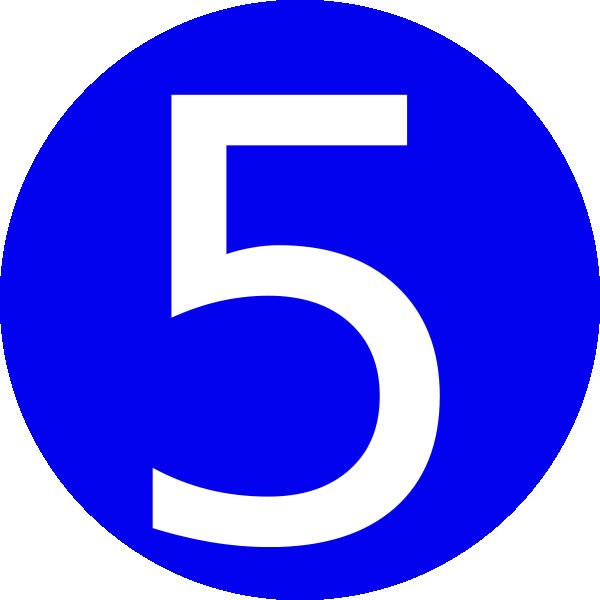 Http Imgarcade Com 1 Blue Number 5