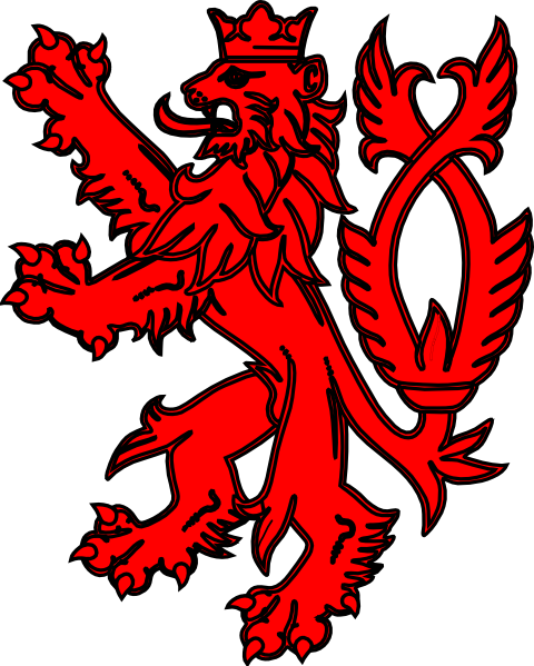 English Lion Red Clip Art at Clker.com - vector clip art online ...
