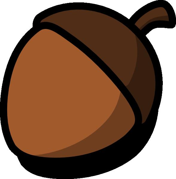 acorn clip art at clker com vector clip art online royalty free rh clker com acorn clipart free acorn clip art black white