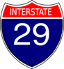 I-29 Sign Clip Art