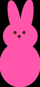 pink peep clip art at clker com vector clip art online peeps clip art color peep clipart
