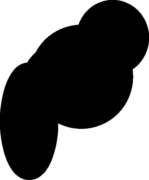 thumbtack black clip art at clkercom vector clip art
