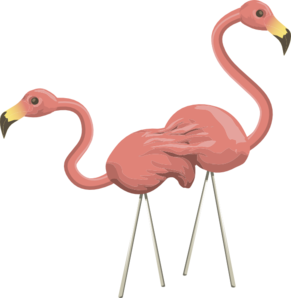 Inhabitants Npc Flamingo Clip Art