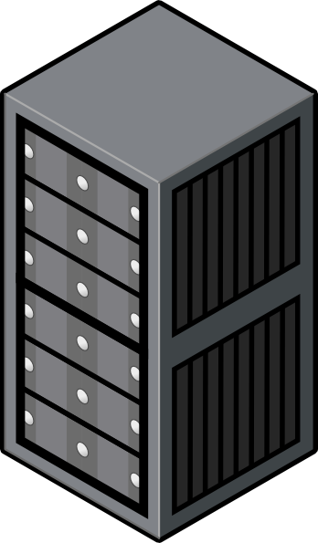 computer rack clip art - photo #1