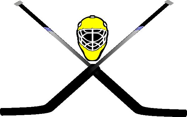 Goalie Skull And Cross Sticks