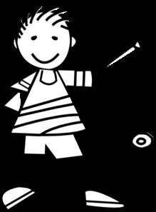 Yo Yo Kid Clip Art at Clker.com - vector clip art online ... Little Boy Playing Baseball
