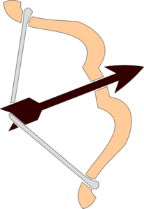 Drawn Bow Clip Art