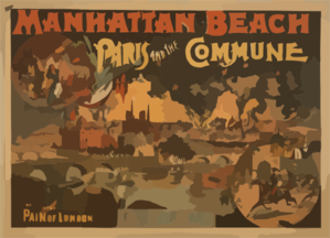 Paris And The Commune Clip Art