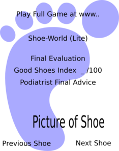 Foot Outline Clip Art
