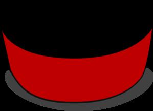 Crimson Red Empty Dog Bowl Clip Art at Clker.com - vector ... - photo#24