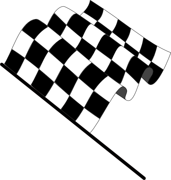 Racing Checkered Flag >> Wavy Checkered Flag Clip Art at Clker.com - vector clip art online, royalty free & public domain