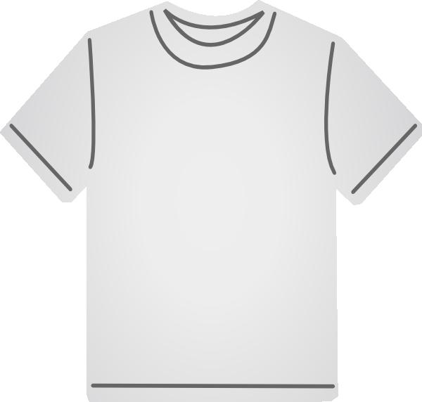 clipart white t shirt - photo #7