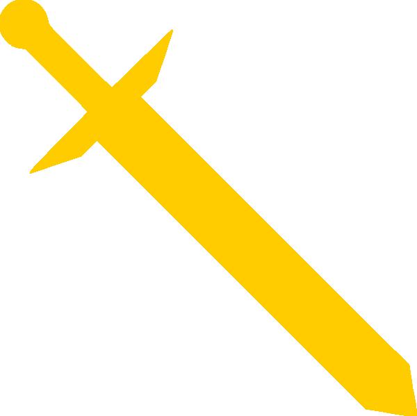 Gold Sword Clip Art at Clker.com - vector clip art online ...