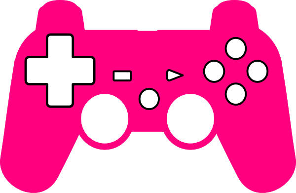 Play Station Controller Silhouette Clip Art at Clker.com ...