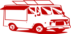 Mobile Food Truck Clip Art