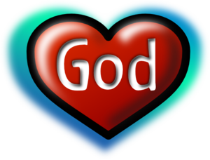 God Heart Clip Art