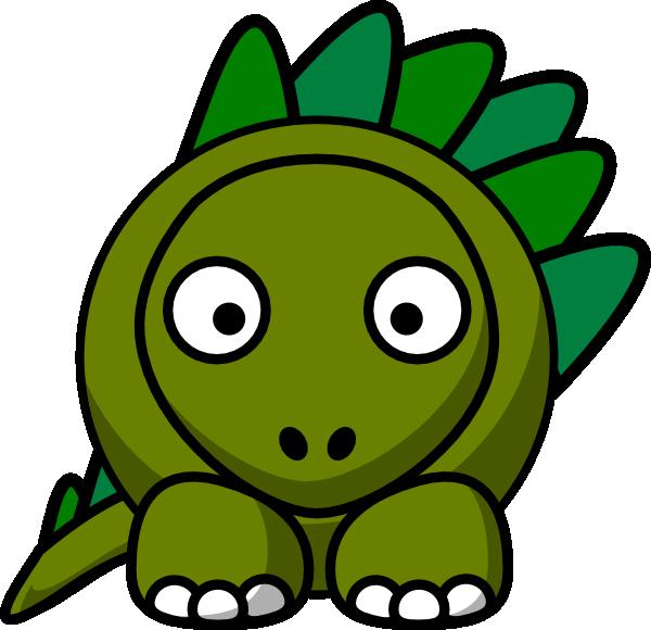 Stegosaurus Clip Art at Clker.com - vector clip art online ...